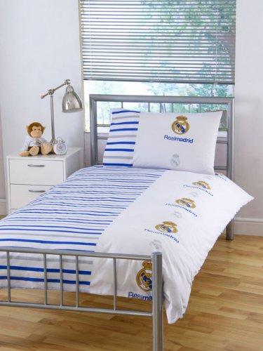 Funda Nordica Real Madrid Cama 90.Funda Nordica Juego Real Madrid Fc Cama 90 Edredon Sabanas
