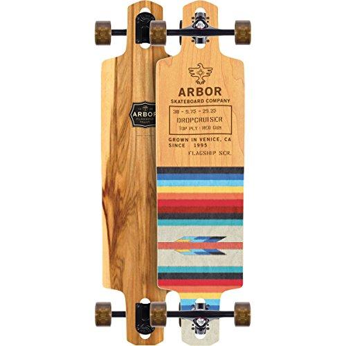 Arbor Dropcruiser Complete Skateboard (Flagship Series, 2018)