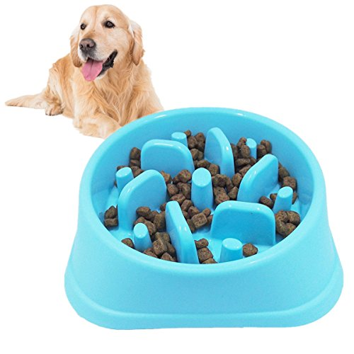 yoyoung Slow Feeder Dog Bowl Interactive Bloat Stop Bowl for Dog,Non Toxic Eco-Friendly