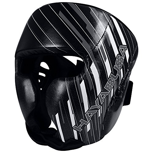 Hayabusa Ikusa Charged Headgear, Black/Grey, One Size