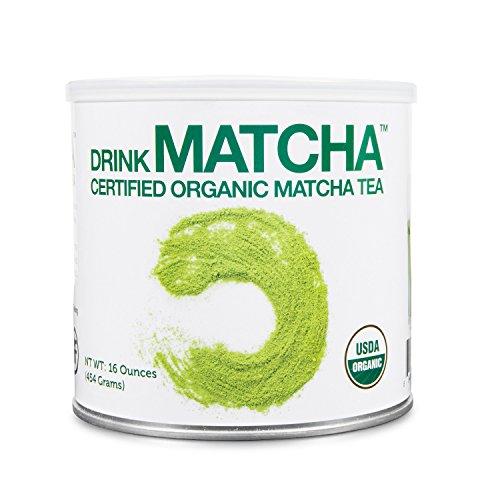 DrinkMatcha - Matcha Green Tea Powder - USDA Organic - 100% Pure Matcha Green tea Powder - Nothing added (16...