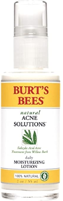 2 Pack - Burts Bees Natural Acne Solutions Daily Moisturizing Lotion 2oz Each doTERRA Lip Balm Original (2 Pack)