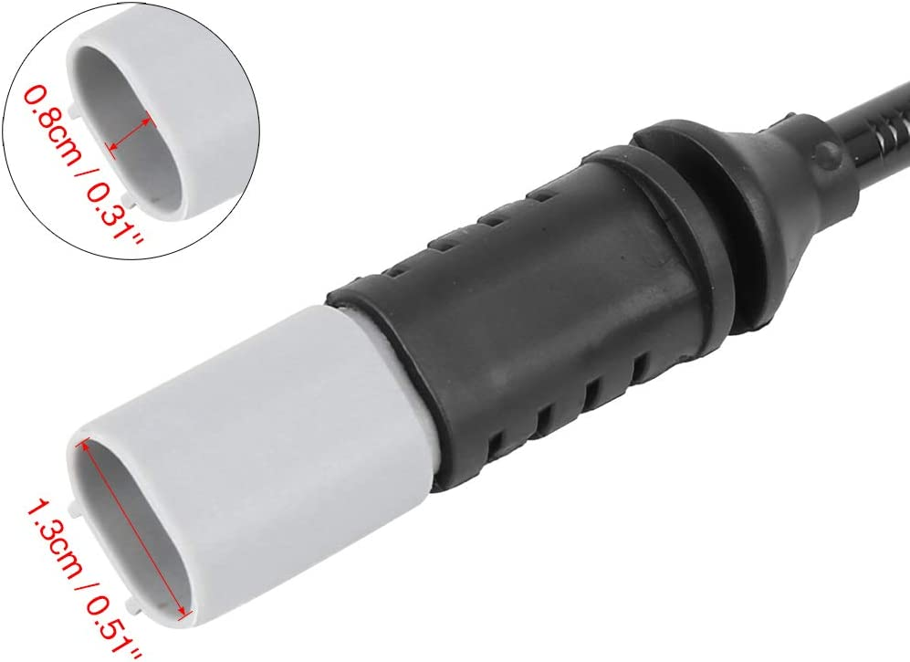 X AUTOHAUX 34356792292 Car Rear Brake Pad Electronic Wear Sensor Indicators