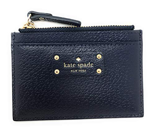 Kate Spade Grove Street Adi Wallet Coin Purse Business Credit Card Holder Case Navy by Kate Spade New York