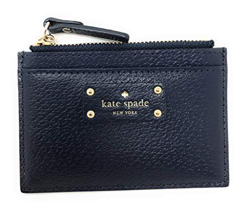 Kate Spade Grove Street Adi Wallet Coin Purse Business Credit Card Holder Case Navy (Card Case Coin Purse)