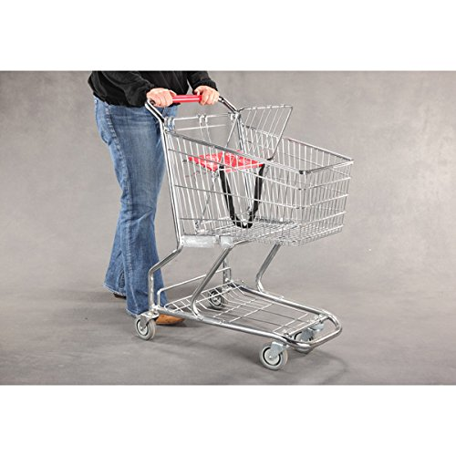 New Extra Tough Steel Quality Grocery Shopping Carts 36'' h X 30'' l by Store Shopping Cart (Image #2)