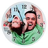 RitzPix Photo Wall Clock Customizable – Perfect Personalized Gift