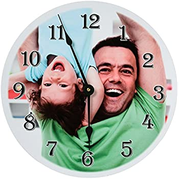 Exceptional RitzPix Photo Wall Clock Customizable U2013 Perfect Personalized Gift