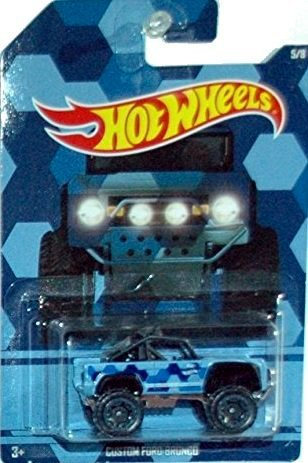Hot Wheels Custom Ford Bronco Camouflage Trucks Walmart Exclusive 5/8