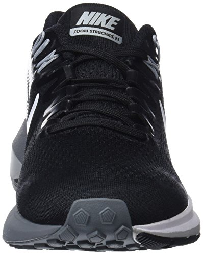 clearance original buy cheap shopping online NIKE Women's Air Zoom Structure 21 Running Shoe Black/White-wolf Grey-cool clearance with credit card sale discount pre order cheap price sWz6y4Tr