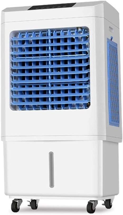 Yan Xiao Yu Acondicionador de aire móvil - Enfriador de aire Aire acondicionado industrial Ventilador Internet Café Aire acondicionado refrigerado por agua Ventilador Solo frío Hogar Ventilador de ref