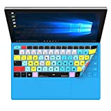 Adobe Premiere Keyboard Cover Skin for Surface Pro 4 & Surface 2017 Type Keyboard