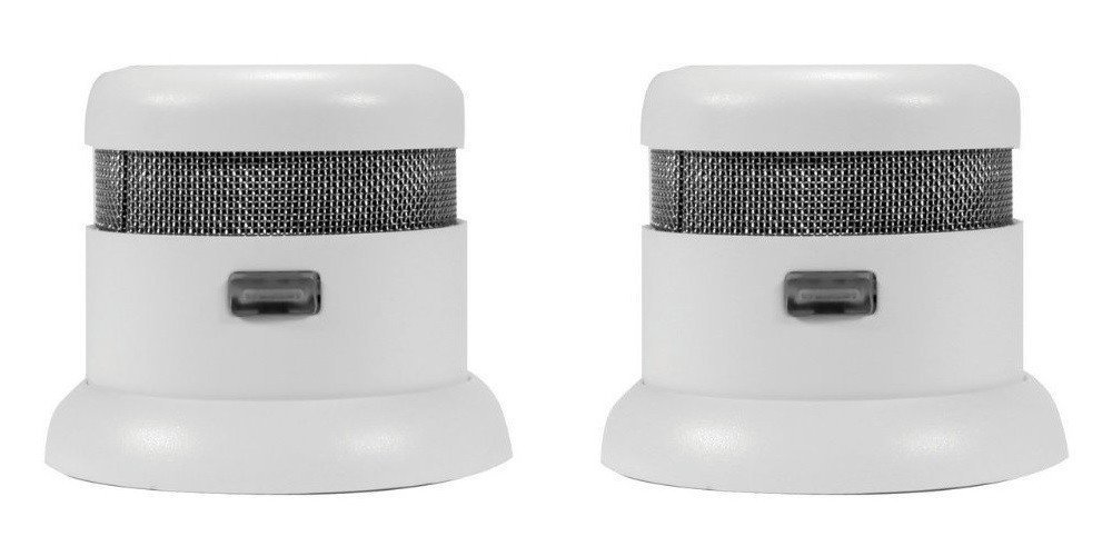 First Alert Atom Micro Photoelectric Smoke and Fire Alarm 2 Pack
