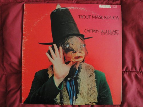 Captain Beefheart & His Magic Band 'Trout Mask Replica' Original 1969 Straight Records STS 1053 Stereo Double Vinyl Lp Album Gatefold Cover Frank Zappa Etched 1A & (RE) on both records EX