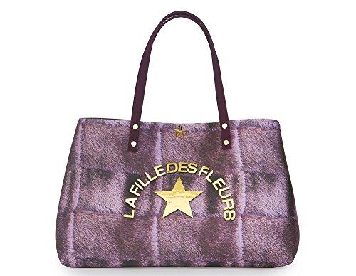Des Women's La Shoulder Fleurs Fille Bag Pink 4xtqwz8