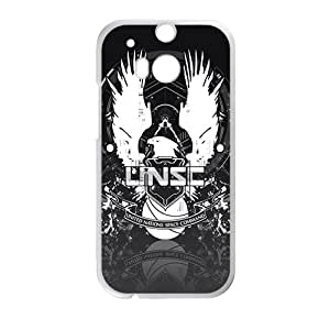 Halo 4 Unsc Cell Phone Case for HTC One M8