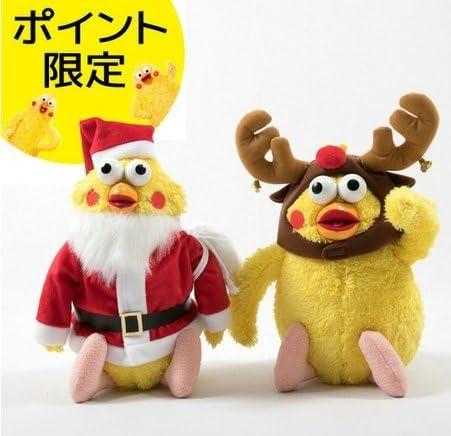 Amazon ノーブランド品 ポインコ兄弟ぬいぐるみ クリスマス17 Dポイント購入限定商品 ぬいぐるみ おもちゃ