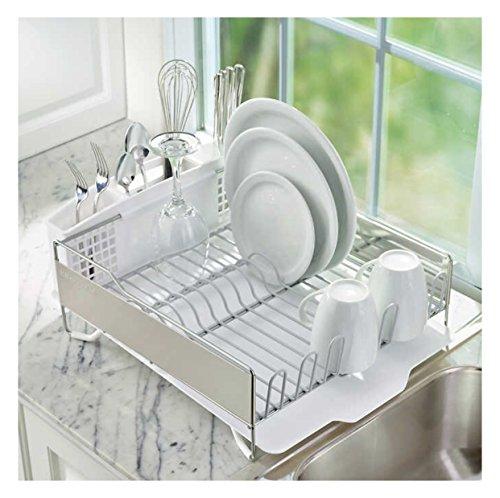 kitchenaid large dish drying rack home garden dining tools utensils racks drain boards. Black Bedroom Furniture Sets. Home Design Ideas