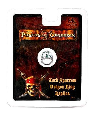 Fluch Der Karibik Jack Sparrow Dragon Ring Replica Amazonde Spielzeug