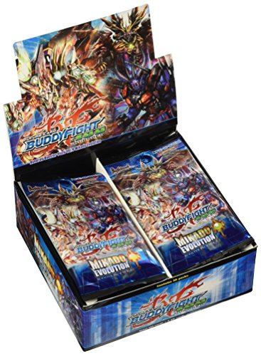 (Mikado Evolution Booster Box 30 packs - Future Card Buddy Fight TCG Game English BFE-H-BT04 New Sealed)