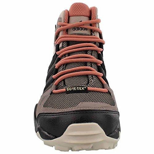 Adidas Outdoor Dames Ax2 Mid Gore-tex Wandelschoenen Damp Grijs / Zwart / Raw Pink
