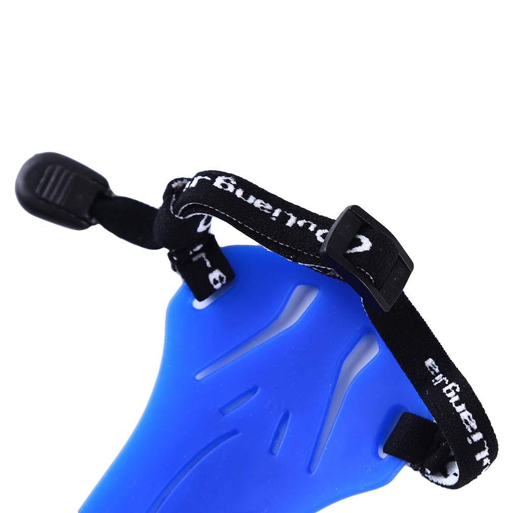 Bras de tir /à larc Faliya caoutchouc garde tir ajustable brassard arbal/ète chasse /équipement de protection avant-bras bleu