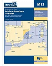 Imray Chart M13: Denia to Barcelona and Ibiza