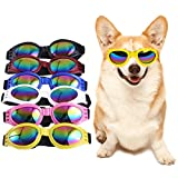 Pickle Rick Pet Glasses Dog Sunglasses Cool Dog Eye Wear Protection Waterproof Pet Goggles for Dogs