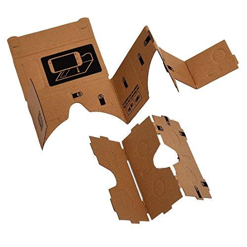 3D Virtual Reality Glasses - TOOGOO (R) Mobile phone cardboard quality 3D Virtual Reality Glasses by SODIAL (Image #3)