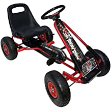 """Angry Birds """"Red"""" Racing Pedal Go-Kart w/ Pneumatic Tire - Black"""