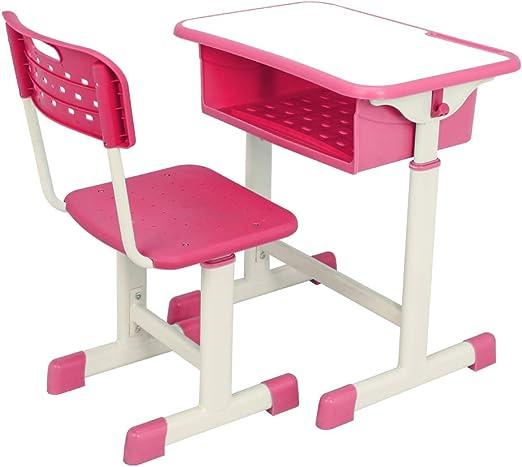Amazon Com Children S Desk Writing Table Adjustable Student Desk