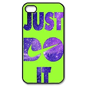 Hard Plastic Cover Case NIKE logo Just Do It iPhone 4/4S Case