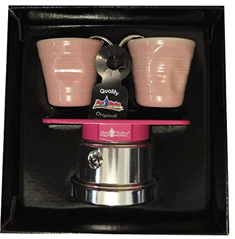 Amazon.com: parte superior Moka Set Mini 2 Taza Espresso ...
