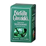 Peppermint TruffleCremes in Double Milk Chocolate - 10oz Gift Box - by Dilettante (3 Pack)