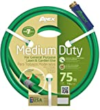 Apex 8535-75 Medium Duty Garden Hose, 5/8-Inch by 75 Feet