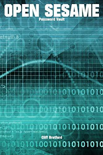 Open Sesame. Password Vault: Password and Security Details Log Book ()