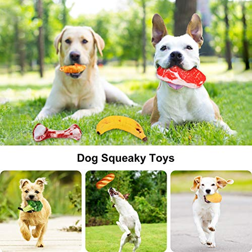 Dorakitten Dog Squeaky Toys, 16 Pack Dog Toys Squeaky Small Dog Toys Squeaky Puppy Chew Toys Plush Dog Toy for Small Dogs with Squeakers for Small/Medium Dogs