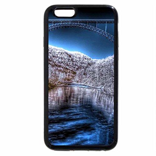 iPhone 6S / iPhone 6 Case (Black) West Virginia in Winter