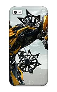 Best 1428302K70973162 Hot Tpye Bumblebee In Transformers 4 Age Of Extinction Case Cover For Iphone 5c