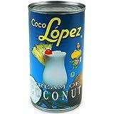Coco Lopez Coconut Cream Tins 425g - Set of 6   Real Cream of Coconut - Pina Colada Cocktail Mixers