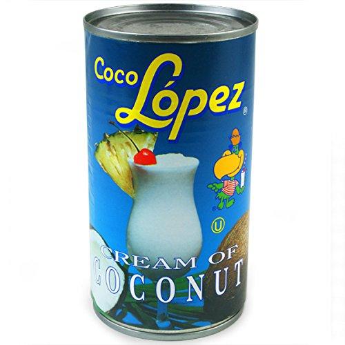 425 g Dose 24 St/ück Coco Lopez Kokosnuss-Creme echt der Kokosnuss-Pina Colada Cocktail Mixer