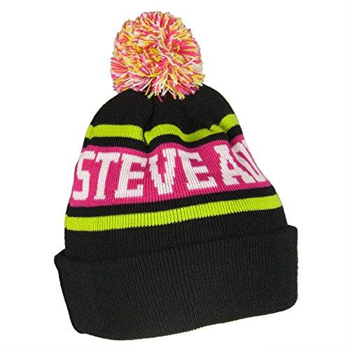 Dim Mak Steve Aoki - Letters Pom Pom Knit Hat -