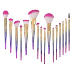 Why Docolor? ❤Makeup Tools OEM Factory for Top Brands! Affordable High Quality for Everyone! ❤Our focus on quality and quality control makes this makeup brush set the absolute go-to; professional brushes at an affordable price. No corners wer...