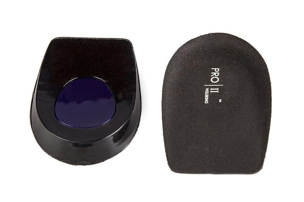 /Solette per tallone in gel con sollevamento dinamico Micro Pro-Gel con ammortizzazione per dolori al tallone e fascite plantare PRO11