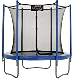 """Upper Bounce 7.5 FT. Trampoline & Enclosure Set equipped with the New """"EASY ASSEMBLE FEATURE"""""""
