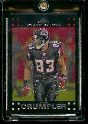 2007 Topps Chrome # TC86 Alge Crumpler - NFL Football Cards