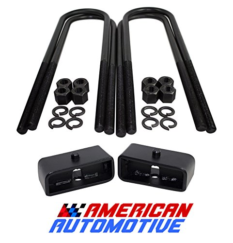 Axle Block Kit - American Automotive 1999-2019 F250 F350 SuperDuty 2WD 4WD and 2000-2005 Excursion 2
