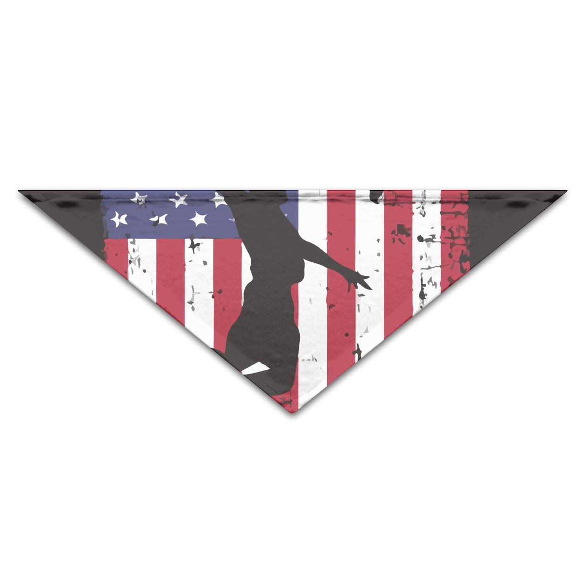 Precioso Baloncesto Vintage Bandera de EE. UU. Fibra de Poliéster ...