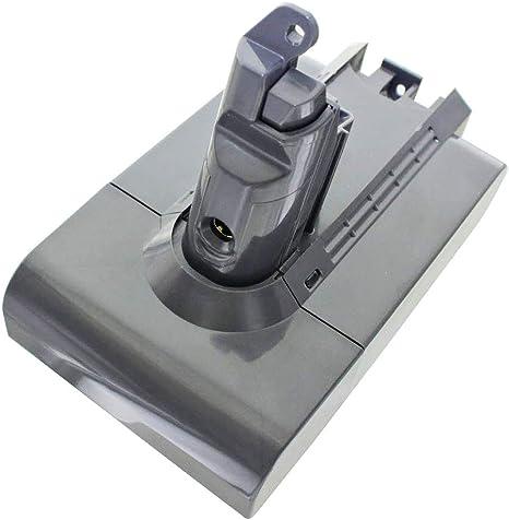 AccuCell - Batería para Dyson DC58, DC59, DC61, DC62, 61034-01 (1500 mAh): Amazon.es: Electrónica