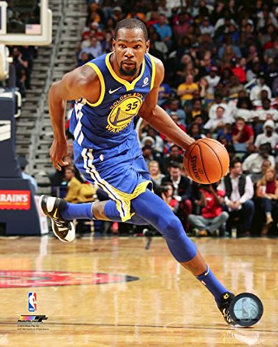6f0224fcc2c Amazon.com  Kevin Durant 2017-18 State Warriors NBA Action Photo ...